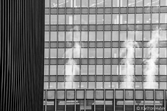 Urban Machine (www.karltonhuberphotography.com) Tags: 2017 architecturaldetails architecture bw blackandwhite chicago horizontalimage illinois industrial karltonhuber lines metal officebuildings officetowers pattern shapes steam streetphotography urban windows