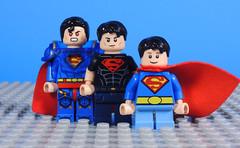Superboy x3 (-Metarix-) Tags: lego super hero minifig dc comics comic rebirth superman superboy superboi prime time earth 1 pre flashpoint house el john kon kal