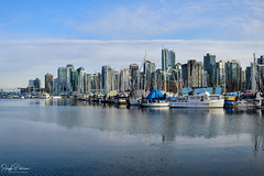 Coal Harbour/ Downtown Vancouver (SonjaPetersonPh♡tography) Tags: vancouverharbour vancouverskyline vancity bc britishcolumbia canada nikon nikond5300 buildings downtownvancouver coalharbour water burrardinlet inlet boats marinas skyscrapers ocean waterfront waterscape cityscape cityofvancouver stanleypark stanleyparkseawall