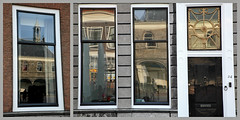 Fenêtres à Zierikzee, Schouwen-Duiveland, Zeelande, Nederland (claude lina) Tags: claudelina nederland hollande paysbas zeeland zierikzee zeelande fenêtre window architecture