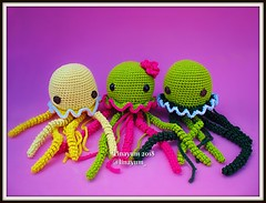 More Jellyfish (Linayum) Tags: ganchillo crochet amigurumi handmade medusa jellyfish cute kawaii katialanas linayum hechoamano