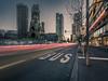 Berlin Skyline (berlin-belichtet.de) Tags: berlin germany bus bvg haltestelle station stop traffic verkehr kaiserwilhelmgedächtniskirche gedächtniskirche hohlerzahn upperwest zoofenster waldorfastoria sundown sonnenuntergang street strase stadtlandschaft cityscape