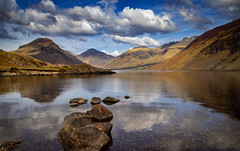 Wast Water (RichySum77) Tags: canon eos 80d sigma lakes scarfell wasdale clouds reflection england cumbria
