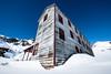 Bunkhouse Wide Angle at Independence Mine (BradTombers) Tags: mine abandoned alaska cold winter sunshine blue sky architechture historical history tourism
