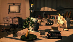 The kitchen is the heart of every home, for the most part. It evokes memories of your family history... (Sɨℓνεя Sɦɨɳε (silverchild24 resident)) Tags: secondlife editing photoshop pocketgacha pocketgachasecondlife thearcadegachaevents hive meshindia mudhoney insurrektion architect vespertine pixelmode ispachi miwas airship theloft