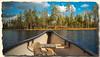 Ballade en Canoë sur le lac Kylkeinen - Finlande (jamesreed68) Tags: kodak easyshare c183 lac lake water finlande finland iso kylkeinen taivalkosky paysage nature forêt taïga canoë hank you thank