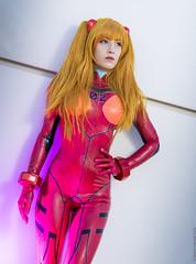 _MG_7604 (Mauro Petrolati) Tags: romics 2018 cosplay cosplayer neon genesis evangelion plugsuit claire asuka soryu langley