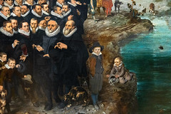 Fishing for Souls (detail)   Adriaen Pietersz. van de Venne   1614   The Rijksmuseum-80 (Paul Dykes) Tags: rijksmuseum museumofthenetherlands art gallery museum amsterdam netherlands nl holland fishingforsouls adriaenpieterszvandevenne 1614