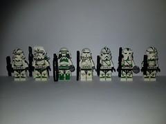Battlefront Style 442nd Siege Battalion (影Shadow98) Tags: lego star wars clone 442nd heavy commander barc atrt jet