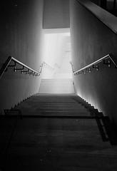 SFMoMA Stairway (aweiss.sf) Tags: analog analogphotography analogue architecture bandw blackwhite building film filmisnotdead interim ishootfilm kodak mesuper moma museum oceana oceanahighschool pentax sanfrancisco sfmoma trix