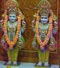 NarNarayan Dev Shringar Darshan on Wed 18 Apr 2018 (Dharma Bhakti Manor Daily Darshan) Tags: nar naryan narnarayan radha krishna radhakrishna harikrishna hari krushna ghanshyam maharaj shringar shayan darshan