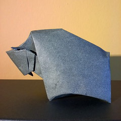 Bison - Giang Dinh (Stefano Borroni (Stia)) Tags: origami piegarelacarta carta paper folding papiroflexia origamilove natura animali bisonte bison animals origamiart cdoitalia arte dinh