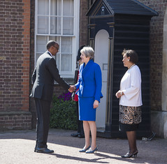 Commonwealth Heads of Government Meeting | London, 19 April 2018 (Paul Kagame) Tags: kagame queen elizabeth theresa may chogm rwanda commonwealth buckingham palace united kingdom london africa