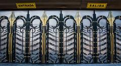 2018 - Mexico City - Doors/Windows - 13 of 13 (Ted's photos - For Me & You) Tags: 2018 cdmx cityofmexico cropped mexico mexicocity nikon nikond750 nikonfx tedmcgrath tedsphotos tedsphotosmexico vignetting doors doorway entrance entry arches entrada salida exit 5photosaday