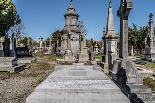 JOHN O'DONOVAN AN IRISH SCHOLAR [BURIED IN GLASNEVIN CEMETERY DECEMBER 13 1861]-138854