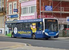 27878 GX13AOZ (PD3.) Tags: 27878 gx13aoz gx13 aoz adl enviro 300 megabus advert bus buses psv pcv hampshire hants england uk portsmouth stagecoach