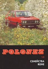 1983 FSO Polonez (Hugo-90) Tags: daewoo fso polonez fiat 125p ads advertising brochure auto car automobile caro atu prima 1983