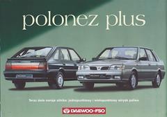 1997-2002 Polonez Plus (Hugo-90) Tags: daewoo fso polonez fiat 125p ads advertising brochure auto car automobile caro atu prima 1997