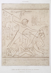 Fight of Séti 1st against the leaders of the Tehran from Histoire de l'art égyptien (1878) by Émile Prisse d'Avennes (1807-1879). Digitally enhanced by rawpixel. (Free Public Domain Illustrations by rawpixel) Tags: egyptian otherkeywords against anillustrationoftheegyptian ancient ancientegyptian ancientegyptianart androsphinx antique archaeological archeology art cc0 design designing drawing dynasty egypt egyptiankingdom egyptien egyptology empire fight gods handdrawn histoiredelartã©gyptien historical history illustration leaders mythology old oldfashioned outlines outlinesfromtheantique pattern pharao psd publicdomain romans sculpture sepia sketch story sã©ti tehran traditional vintage ãmileprissedavennes histoiredelartégyptien séti émileprissedavennes