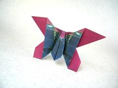 Butterfly - Andrew Hudson (Rui.Roda) Tags: origami papiroflexia papierfalten mariposa borboleta papillon butterfly andrew hudson