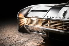 1966 Oldsmobile Toronado Detail (Dejan Marinkovic Photography) Tags: 1966 oldsmobile toronado american classic car lightpainting automotive night chrome headlights frontend