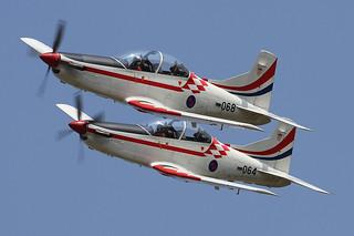 068, Pilatus PC-9 Croatia Air Force @ Radom EPRA