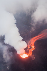 Kilauea Hawaii Volcano - Fissure 8 (tobyharriman) Tags: 5dsr kapoho leilaniestates aerial bay bigisland canon disaster farms fissure hawaii helicopter islands kilaueafissure8 landscape lava natgeo nationalgeographic nature outdoor pele photography rifts river tobyharriman travel volcano