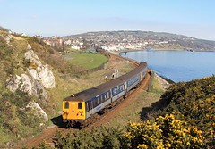 80 class, Whitehead, 23 March 2011 (Mr Joseph Bloggs) Tags: 80 class belfast central larne railway whitehead railroad bahn northern ireland railways sea unit demu diesel electric mutliple 8090 8094 8752 8749 harbour thumper