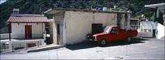 die rote idee in platania (fluffisch) Tags: fluffisch crete kreta platania ida greece hasselblad xpan panorama 45mmf40 rangefinder messsucher analog dia slide fuji fujichrome velvia100