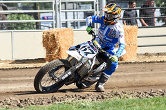 Flat Dirt Track (maytag97) Tags: maytag97 nikon d750 race racer speed fast dirt compete competition sport bike people motorcycle outdoor pendleton oregon outside track