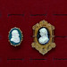 Cameos of a nobleman and lady