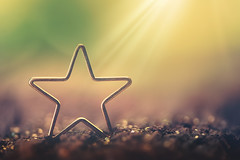 You are my star (Ro Cafe) Tags: linesymmetry mm macro macromondays star glitter light bokeh nikond600