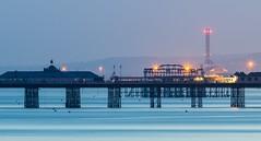 Brighton & Shoreham - Sussex (E_W_Photo) Tags: brighton shoreham pier shorehampowerstation westpier palacepier canon 300mmf4l x14iii