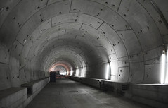 karlsruhe-u-strab-tunnel (elmar theurer) Tags: karlsruhe ustrab untergrund kombilösung architektur verkehr traffic tunnel strasenbahn