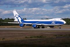 AirBirdgeCargo VQ-BLR, OSL ENGM Gardermoen (Inger Bjørndal Foss) Tags: vqblr airbridgecargo boeing 747 cargo osl engm gardermoen