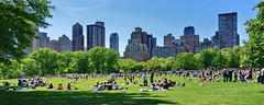 NYC Sunday at Central Park (gerard eder) Tags: world travel reise viajes america northamerica usa unitedstates newyork manhattan skyline skycraper park parque centralpark people peopleoftheworld city ciudades cityscape cityview outdoor