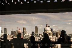 440 - Tate Modern (kosmekosme) Tags: tatemodern tate modern london city museum art sky view skyline people shade shadow shadwos cloud clouds cloudy england unitedkingdom uk d7000 stpaulscathedral stpauls cathedral building buildings architecture modernart capital crane cranes