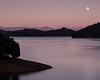 Moonrise over Shasta Lake (Michael Berg Photo) Tags: red california shastalake shasta lake moonrise moon michaelberg michaelbergphoto fuji xpro2 50mm 50mmf2wr fujinon fujifilm