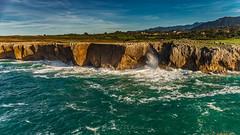 coastal landscape Bufones de Pria 8.)-2463 (dironzafrancesco) Tags: tamron arearecreativadeguadamia tamronsp2470mmf28diusd slta99v bufonesdepria sony natur ribadesella principadodeasturias spanien es