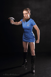 Starfleet Commander Lane Schwartz Ready for the Bad Boys