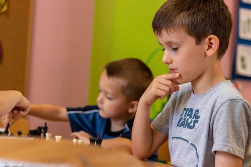 VIII Turniej Szachowy o Mistrzostwo Przedszkola Europejska Akademia Dziecka-7
