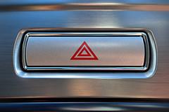 Hazard Warning (Steve Janes Photography) Tags: hazard warning button car ford mondeo mk4 macro mondays transportation