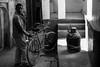 The Milkman (anthonypond) Tags: 50mmsummilux leicam10 bw varanasi india