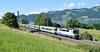 BLS Locomotive Re420502_empty stock_Einigen, Switzerland_110618_01 (DS 90008) Tags: bls lok lakethun einigen 420502 rollingstock mountains train re44 trees nature wildlife electric spiez