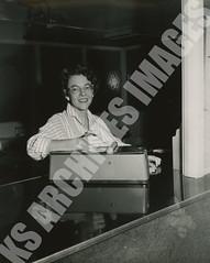 378- 5455 (Kamehameha Schools Archives) Tags: kamehameha archives ksg ksb ks oahu kapalama luryier pop diamond 1954 1955 aileen buskirk business office