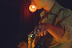 IMG_9017 (stephanie andreana) Tags: ought oughtband oughtmusic music band show concert brooklyn bk markethotel venue bushwick play fun experiment diy create inspire noflash digital drums keys bass sing mic