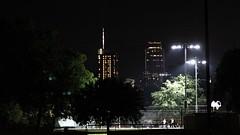 City Lights (Dogwood Week 23 - No Peeking) (lensofjon) Tags: austintx austintexas atx eastaustin nightphotography canonrebel dogwood2018 dogwood52 dogwoodweek23 dogwood2018week23 skyline cityscape streetphotography