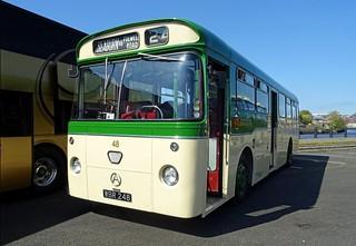 WBR 248 – 1964 Atkinson Alpha/Marshall B45D @ Newcastle Quayside