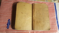 Antique Groceries/Grocers Accounting book (Paper on Steroids) Tags: antique groceriesgrocers accounting book for customers keep track their purchases old journal