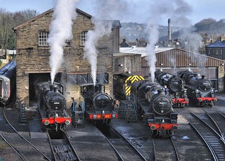 KWVR Haworth West Yorkshire 11th March 2018